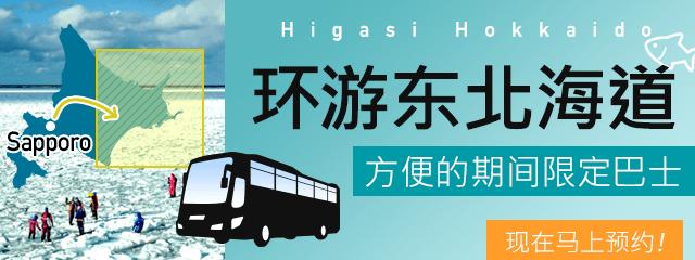 方便的东北海道巡游期间限定巴士!