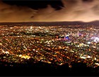 札幌もいわ山夜景号 圧倒的な光量できらめく札幌市街を一望できる藻岩山展望台から夜景を堪能!
