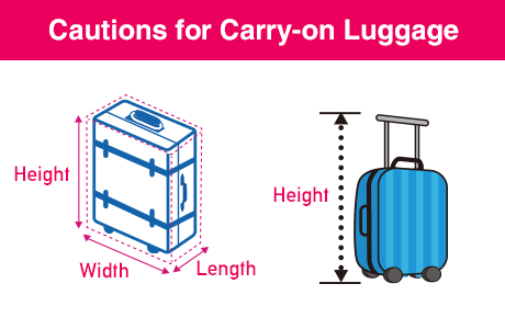 Cautions for Carry-on Luggage