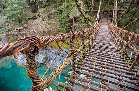 Oku-Iya Double Vine Bridges