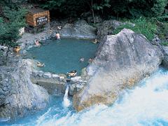 奥飛騨温泉写真