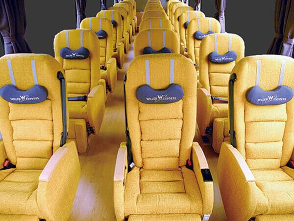 3列獨立座席